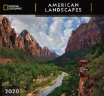 Cal 2020-National Geographic American Landscapes Wall Cover Image