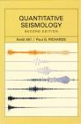 Quantitative Seismology Cover Image