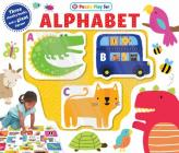 Puzzle Play Set: Alphabet: Three Chunky Books and a Giant Jigsaw Puzzle! Cover Image