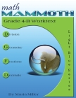 Math Mammoth Grade 4-B Worktext Cover Image