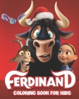 Ferdinand Coloring Book: Fun Coloring Book For Kids Cover Image