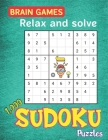 BRAIN GAMES Relax and solve 1,000 SUDOKU Puzzles: Huge Bargain Collection of Puzzles and Solutions, Easy, Medium to Hard Level, Tons of Challenge for Cover Image