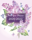 2020-2022 Three Year Planner: Lilac Floral Purple, 36 Months Calendar Monthly Agenda, 3 Year Appointment Book For The Next Three Years, Weekly Organ Cover Image