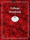 College Notebook: Student workbook Journal Diary Red roses bloom cover notepad by Raz McOvoo Cover Image