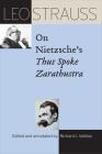 Leo Strauss on Nietzsche's Thus Spoke Zarathustra Cover Image