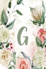 G: Green Cream Floral 2020 Weekly Planner 6