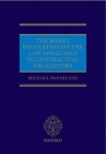 The Rome I Regulation on the Law Applicable to Contractual Obligations Cover Image