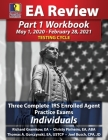 PassKey Learning Systems EA Review Part 1 Workbook: Three Complete IRS Enrolled Agent Practice Exams for Individuals (May 1, 2020-February 28, 2021 Te Cover Image