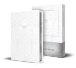 Sagrada Biblia Católica: Edición compacta. Cuero de imitación blanco, en caja / Sacred Catholic Bible: Compact Edition. White imitation leather, with gift box Cover Image