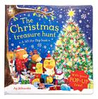 The Christmas Treasure Hunt: A Lift the Flap Book Cover Image