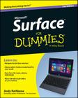 Surface for Dummies Cover Image