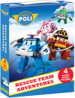 Robocar Poli: Rescue Team Adventures Box: 4 Books Included Cover Image