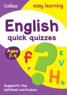 English Quick Quizzes: Ages 7-9 (Collins Easy Learning KS2) Cover Image