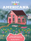 Folk Art Fusion: Americana: Learn to draw and paint charming American folk art with a colorful, modern twist Cover Image