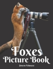 Foxes Picture Book: A Gift Book for Alzheimer's Patients and Seniors with Dementia Elderly Men and Women A photo Book for Kids and Childre Cover Image