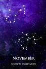 November Diary: Scorpio Sagittarius Cover Image