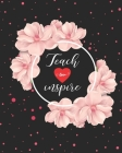 Teach Love Inspire: Teacher Appreciation Notebook Or Journal Cover Image