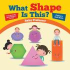 What Shape Is This? - Trace and Color Geometry Books for Kids Children's Math Books Cover Image