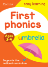 First Phonics: Ages 3-4 (Collins Easy Learning Preschool) Cover Image