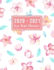2020-2021 Two Year Planner: large see it bigger 2-year monthly planner 2020-2021 - 24 Months Agenda Planner with Holiday from Jan 2020 - Dec 2021 Cover Image