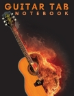 Guitar Tab Notebook: Amazing Blank Guitar Tab Notebook: 6 String Guitar Chord and Tablature Staff Music Paper Cover Image