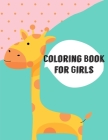 Coloring Book For Girls: Cute Chirstmas Animals, Funny Activity for Kids's Creativity Cover Image