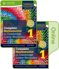 Complete Mathematics for Cambridge Secondary 1 Book 1: Print and Online Student Book Cover Image