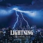 Lightning Calendar 2021: 16 Month Calendar Cover Image