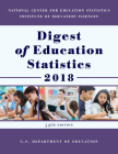 Digest of Education Statistics 2018 Cover Image