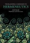 The Blackwell Companion to Hermeneutics Cover Image