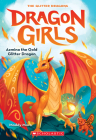 Azmina the Gold Glitter Dragon (Dragon Girls #1) Cover Image