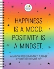 Positively Present 16-Month 2021–2022 Monthly/Weekly Planner Calendar Cover Image