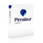 Pimsleur Hindi Level 1 CD: Learn to Speak, Understand, and Read Hindi with Pimsleur Language Programs (Comprehensive #1) Cover Image