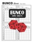 Bunco Game Sheets: Bunco Score Book Cover Image