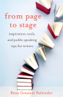 From Page to Stage: Inspiration, Tools, and Simple Public Speaking Tips for Writers Cover Image