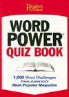 Word Power Quiz Book: 1,000 Word Challenges from America's Most Popular Magazine Cover Image