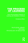 The Process of Learning: Some Psychological Aspects of Learning and Discipline in School (Routledge Library Editions: Psychology of Education) Cover Image