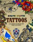 Inspired Coloring Tattoos: Coloring to Relax and Free Your Mind Cover Image
