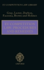 Eu Competition Law: Procedures and Remedies (Eu Competition Law Library) Cover Image