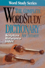 Scripture Refernce Index for the Complete Word Study Dictionary: NT Cover Image