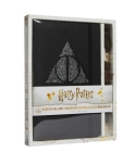 Harry Potter: Deathly Hallows Hardcover Journal and Elder Wand Pen Set Cover Image