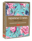 Japanese Cranes Note Cards: 12 Blank Note Cards & Envelopes (6 X 4 Inch Cards in a Box) Cover Image