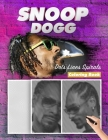 SNOOP DOGG Dots Lines Spirals Coloring Book: New Kind Of Stress Relief Coloring Book For Kids And Adults Cover Image