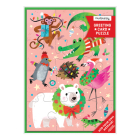 Merry Animals Greeting Card Puzzle Cover Image