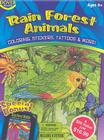 Rain Forest Animals [With Stickers and 6 Crayons and 8 Temporary Tattoos and 6 Stencils and 3 Coloring Books] (Dover Fun Kit) Cover Image