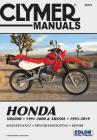 Honda XR600R - 1991-2000 & XR650L - 1993-2019 Clymer Manual: Maintenance - Troubleshooting - Repair (Clymer Powersport) Cover Image