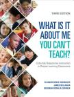 What Is It about Me You Can′t Teach?: Culturally Responsive Instruction in Deeper Learning Classrooms Cover Image