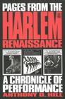 Pages from the Harlem Renaissance: A Chronicle of Performance (Studies in African and Afro-American Culture #6) Cover Image