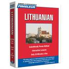 Pimsleur Lithuanian Level 1 CD: Learn to Speak and Understand Lithuanian with Pimsleur Language Programs (Compact #1) Cover Image