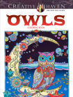 Creative Haven Owls Coloring Book (Adult Coloring) Cover Image